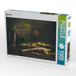 Palbohnen Lege-Größe 64 x 48 cm Foto-Puzzle Bild von photoGina Puzzle