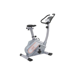 ISE Fitnessbike ISE Ergometer Heimtrainer Fahrradergometer mit Magnetbremssystem,Traingscomputer&Tablethalterung-12KG Schwungmasse,mit Motorsteuerung,Pulssensoren (SY-8602)