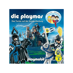 Die Playmos - (8)Das Tunier Auf Der Königsritterburg (Relaunch) (CD)