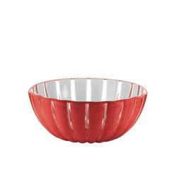 Guzzini Schale guzzini Schale GRACE rot-weiß D ca. 25 cm, Acrylglas