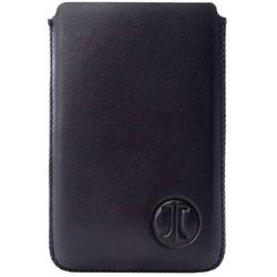 JT Berlin 10197 Premium Etui für Kreditkarten, Geldkarten, Visitenkarten Schwarz Leder