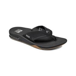 Reef - Fanning Black/Silver - Flip Flops - Größe: 8