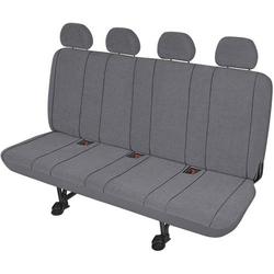 HP Autozubehör 22416 Sitzbezug 5teilig Polyester Grau Rücksitzbank (4er)