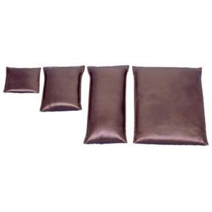 Behrend Sandsack, Lagerungshilfe, feinkörnig, Kunstlederbezug, 15x15cm, 0,5 kg