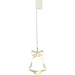 Polarlite LBA-50-011 LED-Fensterbild Glöckchen LED Weiß