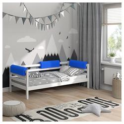 Bettumrandung Bettkantenschutz Kinderbett Kantenschutz blau Babybett VitaliSpa® blau