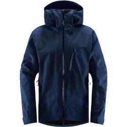 Haglöfs - Niva Jacket Men Tarn Blue Solid  - Skijacken - Größe: XL