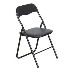 ebuy24 Relaxliege, Gartenliege 4er Set Mihe Klappstuhl, mit gepolstertem Sitz, sc