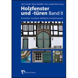 Holzfenster und -türen. Bd.II als Buch von
