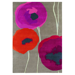 Teppich Poppies - Rosa