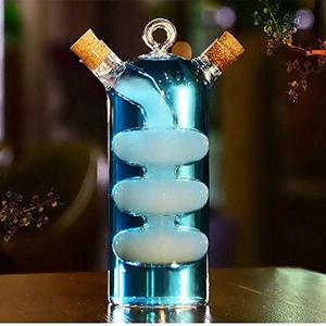Tiki Cocktailgläser, für Getränke, spezielles klares Cocktailglas, ideal für Softdrinks, Bier, Cocktails und Longdrinks, Geschenk für Party, Küche, Bar, Hochzeit, Festival, Feier (100 ml + 315 ml)