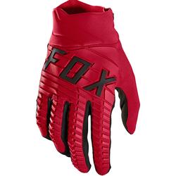 FOX 360 Motocross Handschuhe, rot, Größe S
