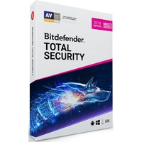BitDefender Total Security Multi-Device 2019 5 Geräte 2 Jahre ESD DE Win Mac Android iOS
