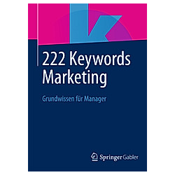 222 Keywords Marketing - Buch