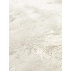 Teppich Synthetik Lammfell weiß ca. 50/80 cm