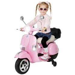 Actionbikes Motors Elektro-Kinderroller Kinder Elektroroller Piaggio Vespa PX150, Belastbarkeit 35 kg, Roller - Motorrad - bis 35kg belastbar rosa