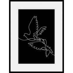 queence Bild FREEDOM, (1 Stück) 30 cm x 40 cm