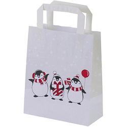 500 VP Geschenktaschen Pinguin Motiv