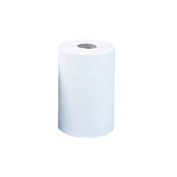 Papierhandtücher zweilagig in der rolle mini, 12 stk.