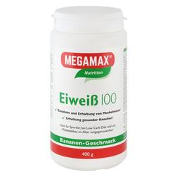 EIWEISS 100 Banane Megamax Pulver 400 g