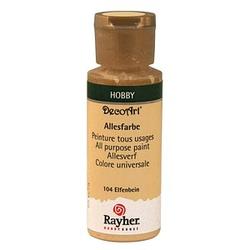 Rayher Allesfarbe Acrylfarben elfenbein 59,0 ml, 1 St.
