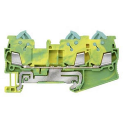 Siemens 8WH30030CE07 Schutzleiterklemme 5.2mm Schneidklemmanschluss Grün, Gelb