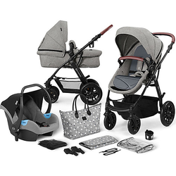 Kinderwagen Xmoov, multifunktional, 3in1, grau