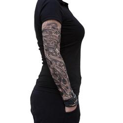 Tattoo Ärmel Strümpfe Armstulpen Motiv - the king