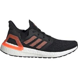 adidas Ultraboost 20 W core black/signal coral/cloud white 40