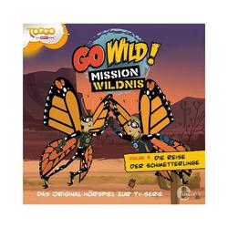 Edel Hörspiel CD Go Wild! Mission Wildnis 03 - Die Reise der