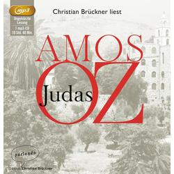 Judas als Hörbuch CD von Amos Oz