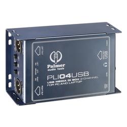 Palmer Pro PLI 04 USB Aktiv DI-Box