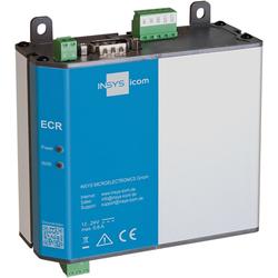 Insys icom ECR-EW300, WLAN/LAN-to-LAN-Router, VPN 2xEthernet 10/100BT 1xRS232 1xRS485 2xdig.Ein 2xdig.Aus, Router, Grau
