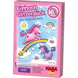 Haba Spiel, Einhorn Glitzerglück - Der Wolkenschatz, Made in Germany