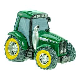 Kremers Schatzkiste Spardose Grüner Traktor