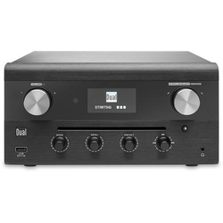 Dual CR 900 Phantom Internet CD-Radio DAB+, UKW AUX, Bluetooth®, CD, DLNA, NFC, USB, WLAN, Internet