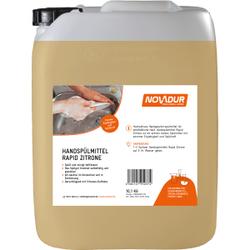 NOVADUR Handspülmittel Rapid Zitrone , Spült und reinigt fettlösend, 10 l - Kanister
