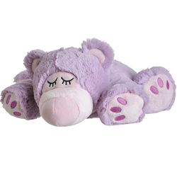 Warmies Beddy Bear Sleepy Bear lila