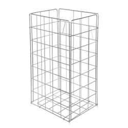 racon® Papierkorb x-waste, ca. 54 Liter, Gitterkorb aus Metall, H 640 mm, B 330 mm, T 255 mm
