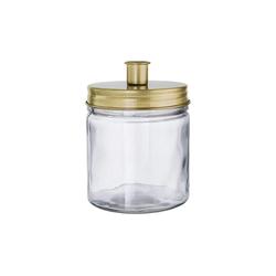 BUTLERS Kerzenhalter CANDLE JAR Glas mit Kerzenhalter Höhe 15cm