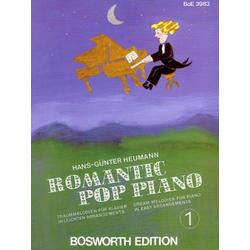 Romantic Pop Piano. Bd.1