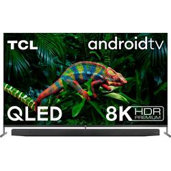 TCL 75X915X1 QLED-Fernseher (189 cm/75 Zoll, 8K, Smart-TV, mit integrierter, ausfahrbarer Kamera und ONKYO Soundsystem)