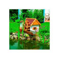 promadino Wasserspiel Mühle Jever, 110 cm Breite