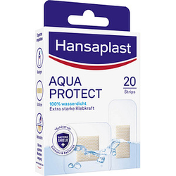 20 Hansaplast Pflaster AQUA PROTECT