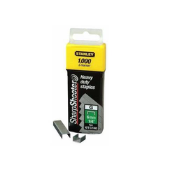 STANLEY 1-TRA708T Typ G Heftklammern Klammern Tackerklammer 12 mm 1000 Stück