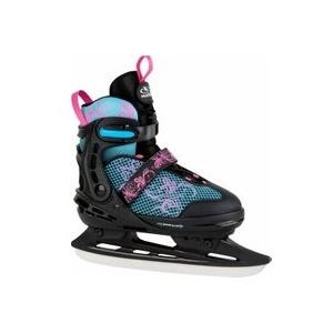 HUDORA 45249 - Allround Schlittschuh, Comfort Eislaufschuhe Ice Skates, floral, 35-40