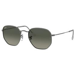 RAY BAN Sonnenbrille HEXAGONAL RB3548N grau S