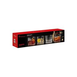 SPIEGELAU Whiskyglas Perfect Serve Collection Negroni Whiskygläser 4er Set, Glas