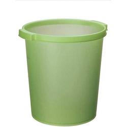 Papierkorb Silky Touch 15l grün