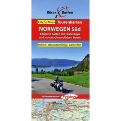 Norwegen Süd 1 : 600 000